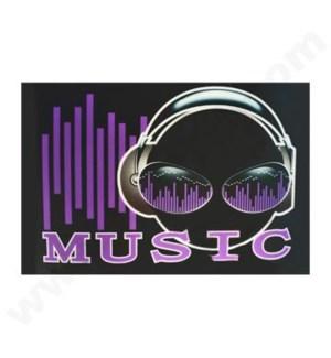 DISC T Shirts LED-MUSIC (2XL)