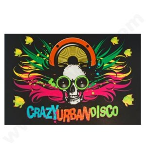 DISC T Shirts LED-Crazy Urban Disco (XL)