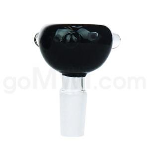 GOG 14mm Male Bowl w/ Tri-Marbles-Black