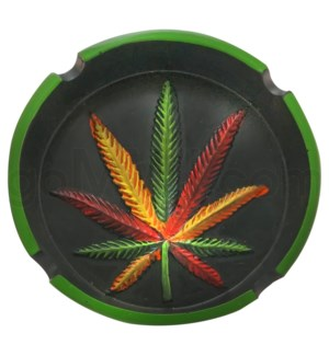 Ashtray Display Rasta Design 8PC/BX 6cs/bx