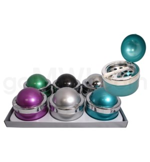 disc Ashtray Round #1 6PC/BX