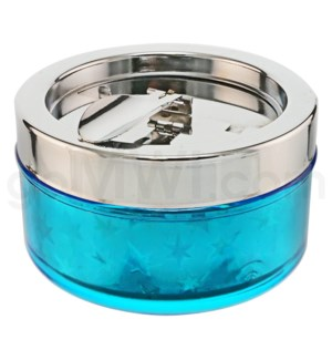 DISC Ashtray w/Cigarette Holder  Asst. Colors