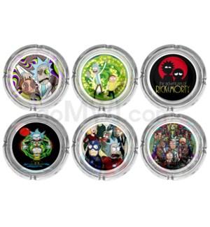 Glass Ashtray 6CT Display - RM 1