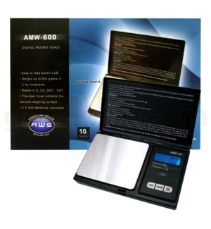 AWS AMW-600 600g x 0.1g Notebook Scales