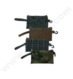 """DISC Bag 10"""" Zip Assorted Designs"""