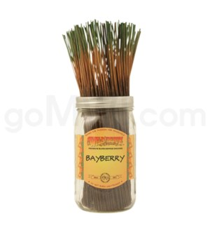 Wildberry Incense Bayberry 100/ct