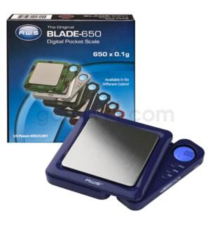 AWS BLADE-650 650g x 0.1g Blade Scales- Blue