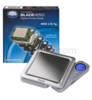 AWS BLADE-650 650g x 0.1g Blade Scales- Gray