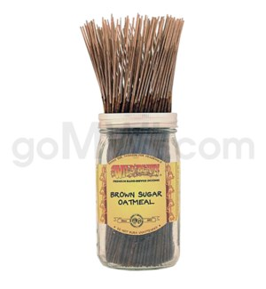 Wildberry Incense Brown Sugar Oatmeal 100/ct