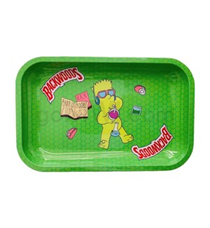 Backwoods 11x7in Medium Rolling Tray - Bart