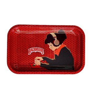 Backwoods 11x7in Medium Rolling Tray - Girl