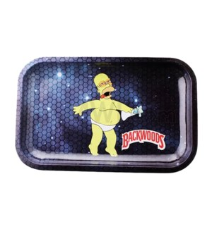 Backwoods 11x7in Medium Rolling Tray - Homer Space
