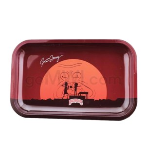 Backwoods 11x7in Medium Rolling Tray - R&M