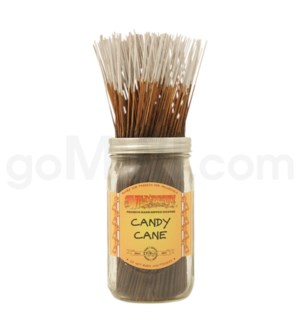 Wildberry Incense Candy Cane 100/ct
