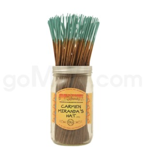 Wildberry Incense Carmen's Hat 100/ct