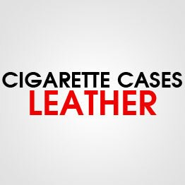 CIGARETTE CASE LEATHER