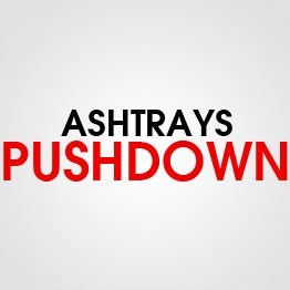 ASHTRAY PUSHDOWN