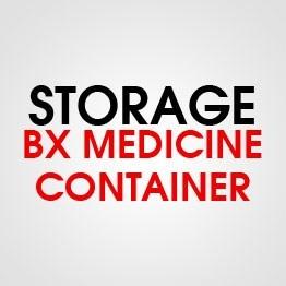 BX MEDICINE CONTAINER