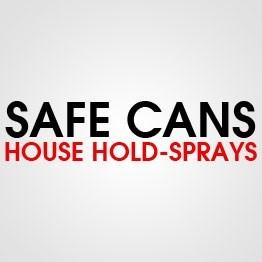 SAFE CAN HOUSE HOLD SPRAYS