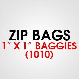 """1"""" X 1"""" (1010) BAGGIES"""