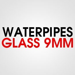 GLASS WATER PIPE 9MM
