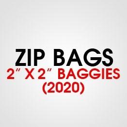 """2"""" X 2"""" (2020) BAGGIES"""