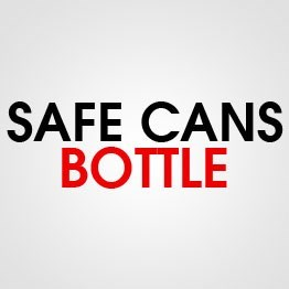SAFE CAN BOTTLE