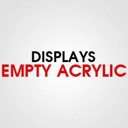 DISPLAY EMPTY ACYLIC ETC