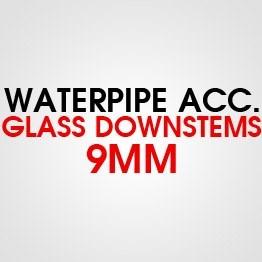 GLASS 9MM DOWNSTEMS