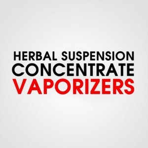HERBAL SUSPENSION VAPORIZERS