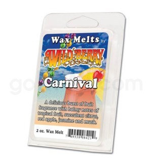 Wildberry Incense Carnival Wax Melt