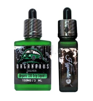 CBD Oil: Organabus Silver 30ml 150mg CBD -Hypnotic