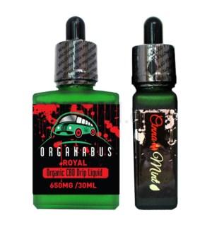 CBD Oil: Organabus Royal 30ml 650mg CBD Cinnamint Drip