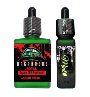 CBD Oil: Organabus Royal 30ml 650mg CBD Mint Drip