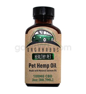 CBD Organabus 3oz.100mg Pet Hemp Oil