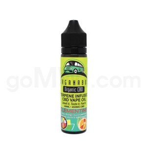 CBD Organabus 60ml 450mg Terpene Infused - Clementine