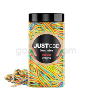 JUST CBD 3000mg Jar Rainbow Ribbons