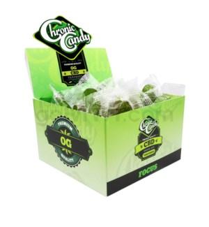 Chronic Candy CBD 10mg Lollipop-OG Kush 60ct