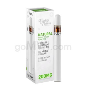 Funky Farms CBD 200mg CRD Disposable Vape Pen - Unflavored