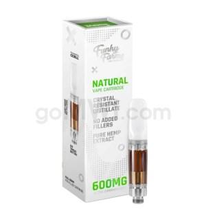 Funky Farms CBD 600mg Natural Distillate Vape Cartridge