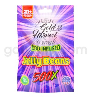 Gold Harvest CBD Infused 500mg Jelly Beans