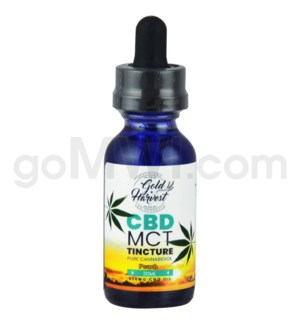 Gold Harvest CBD 30ml 500mg Tincture Peach
