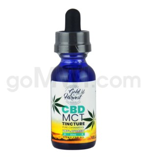Gold Harvest CBD 30ml 500mg Tincture Unflavored