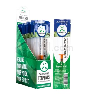 Green Roads CBD Daily Dose 1ml Blueberry 7mg/ct 20PC/BX
