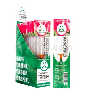 Green Roads CBD Daily Dose 1ml Strawberry 7mg/ct 20PC/BX