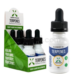 Green Roads CBD Terpenes Oil 300mg 15ml Blueberry 6PC/BX