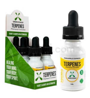 Green Roads CBD Terpenes Oil 300mg 15ml Pineapple 6PC/BX