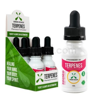 Green Roads CBD Terpenes Oil 300mg 15ml Strawberry 6PC/BX