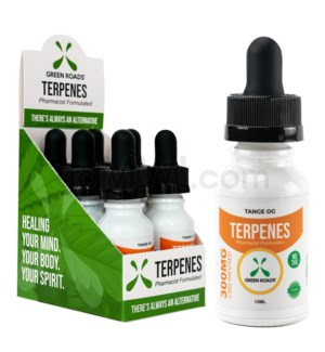 Green Roads CBD Terpenes Oil 300mg 15ml Tange 6PC/BX