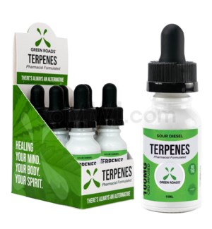 Green Roads CBD Terpenes Oil 100mg 15ml Sour 6PC/BX
